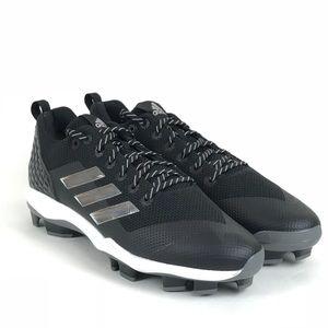 Adidas Mens PowerAlley 5 TPU Baseball Cleats Sz 16